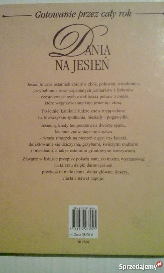 Dania Na Jesieńgotowanie Przez Cały Rokalinea2000