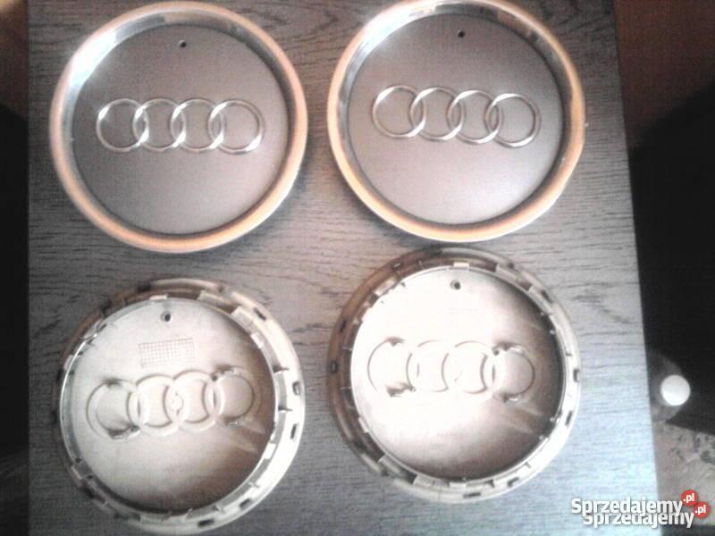 Dekielki Dekle zaślepki do felg aluminiowych AU Wrocław sprzedam