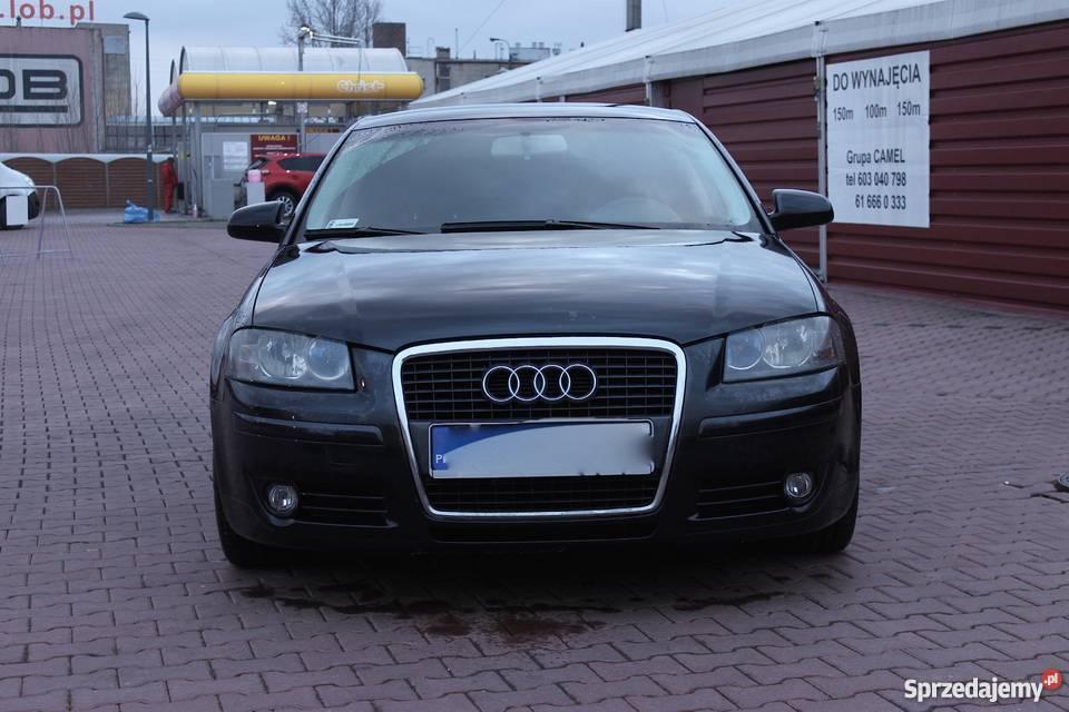 Audi A3 8p Czarna S3 S Line Alu Leszno Sprzedajemypl