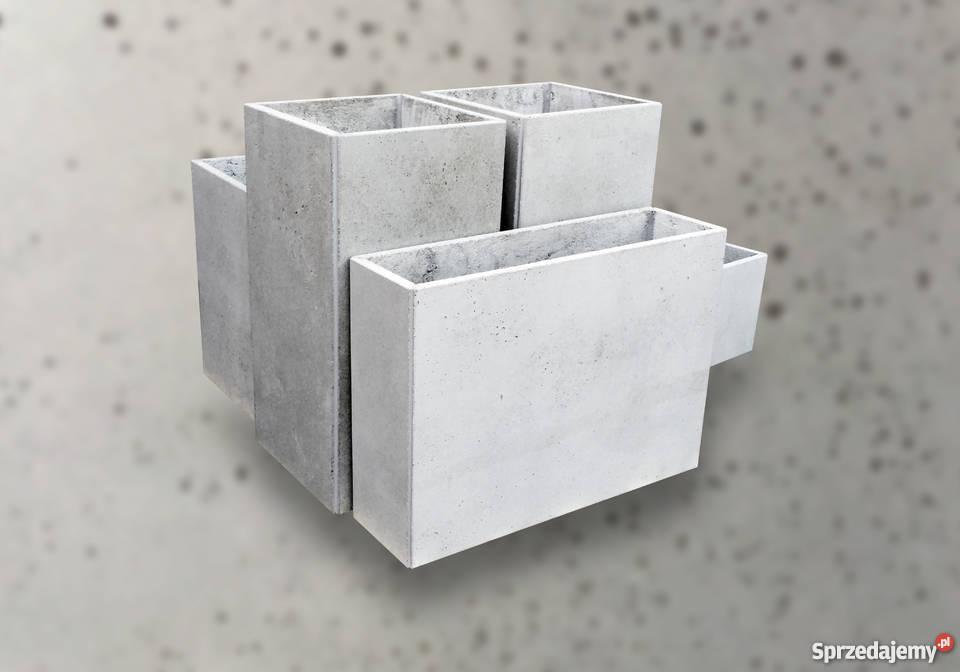 Donice Z Betonu Architektonicznego 50 X 50 X 50
