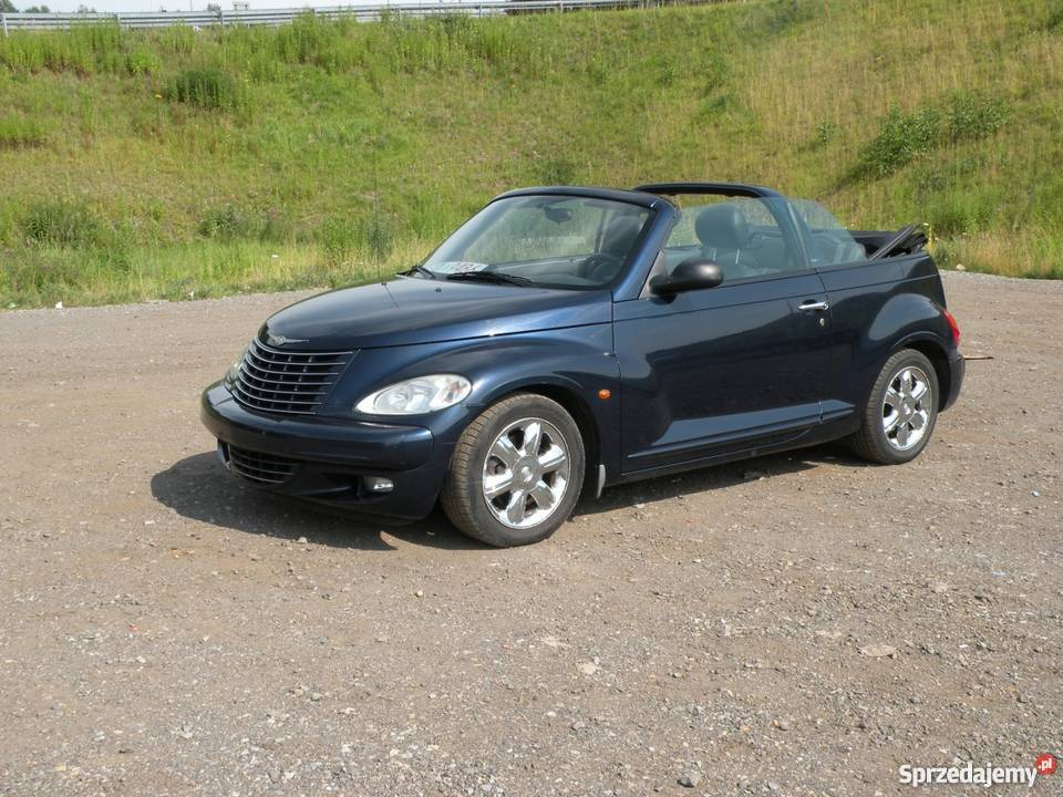 chrysler pt cruiser cabrio 2005r 2 4 manual bytom. Black Bedroom Furniture Sets. Home Design Ideas