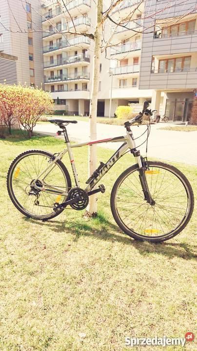Ekstra rower Giant ROAM 3 srebrny 2014 Warszawa sprzedam