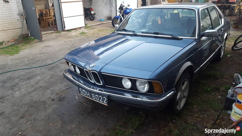 Poważnie BMW E 23 REKIN 1981r dla kolekcjonera możliwa zamiana Siedlce WL59