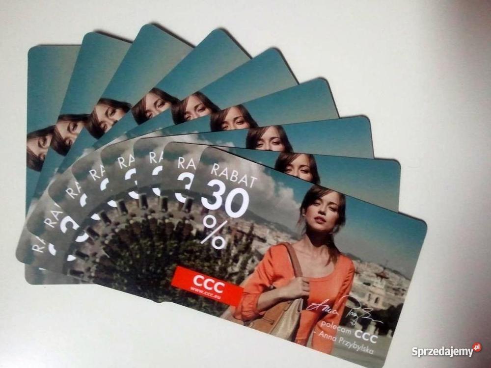 Karta Rabatowa Ccc Boti Lasocki 30 Sprzedajemy Pl