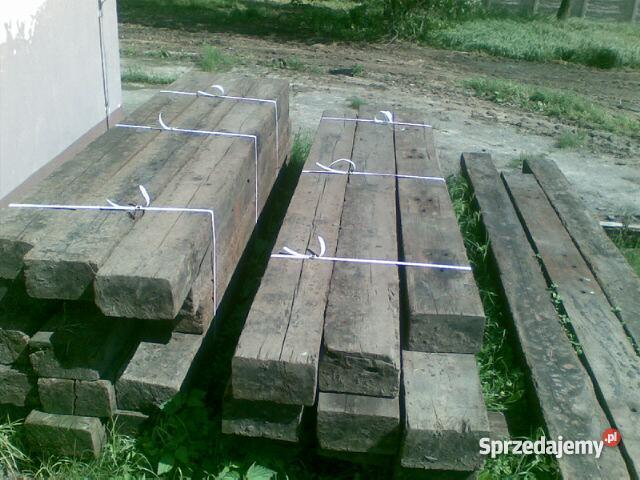 Podkłady kolejowe drewniane Skokowa