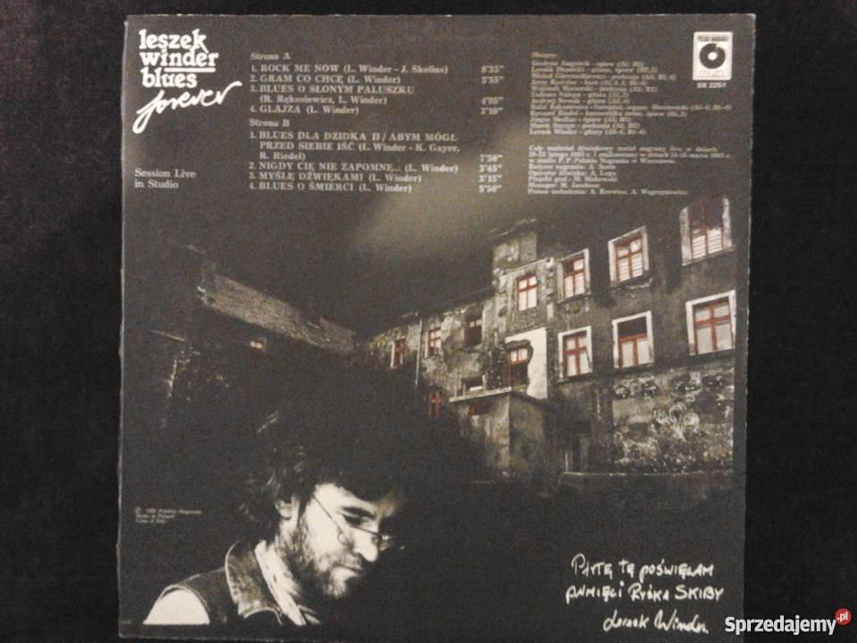 LESZEK WINDER Blues Forever płyta winylowa płyta winylowa Płyty i kasety Kultura i Rozrywka Wrocław