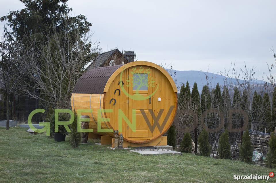 Bardzo dobryFantastyczny sauna ogrodowa, beczka, balia, sauna fińska, SPA Lipnica Wielka CD52