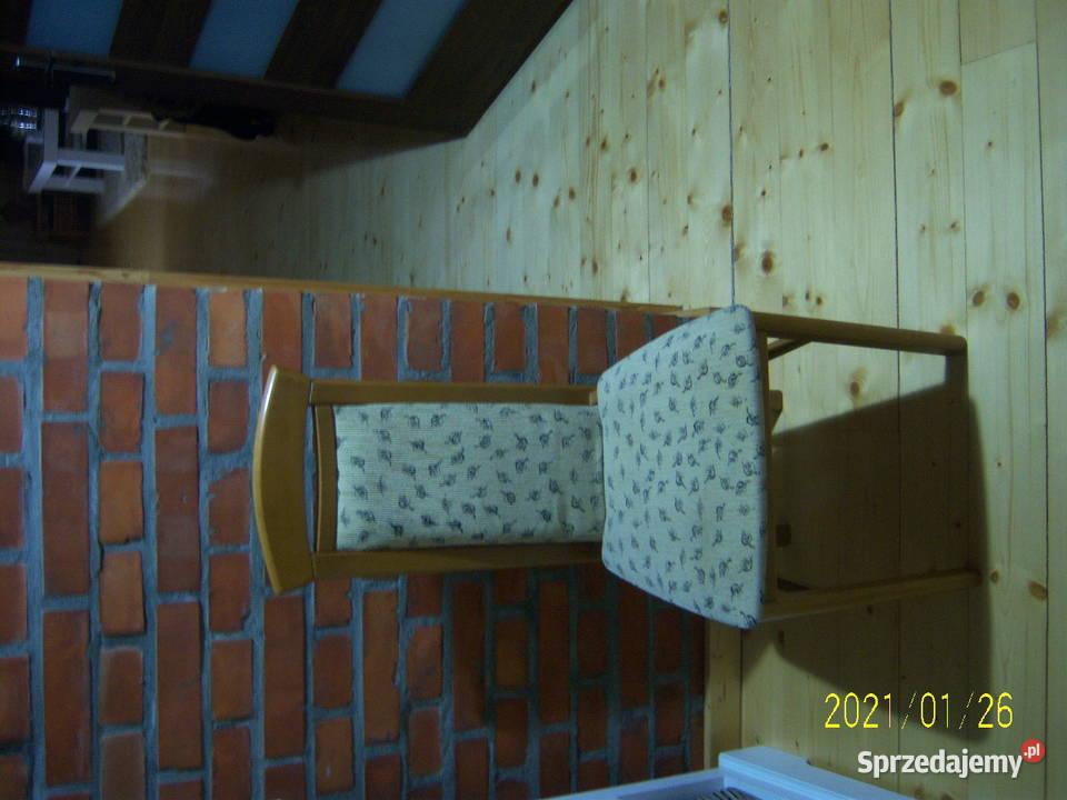 Krzesło tapicerowane ładne