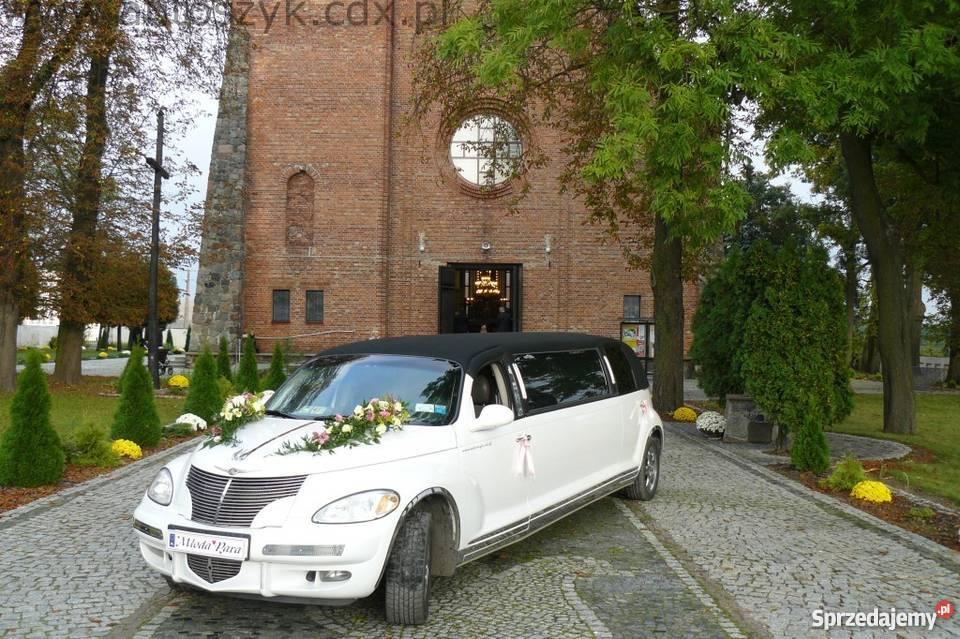 Auta ślubne limuzyny lincoln excaliburchrysler Warszawa