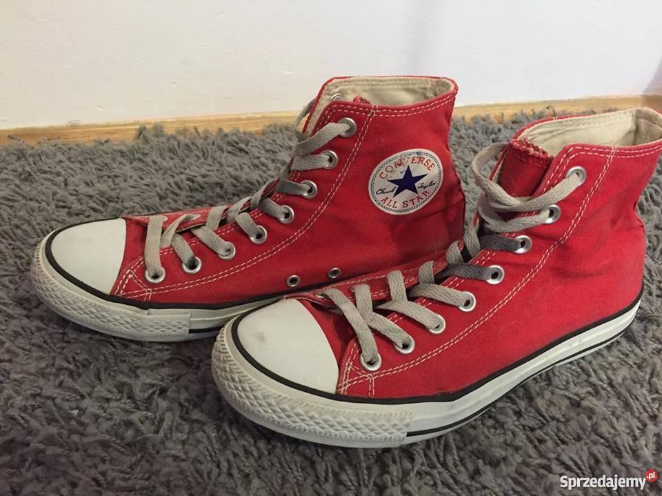 6d135f4360b53 czerwone converse - Sprzedajemy.pl