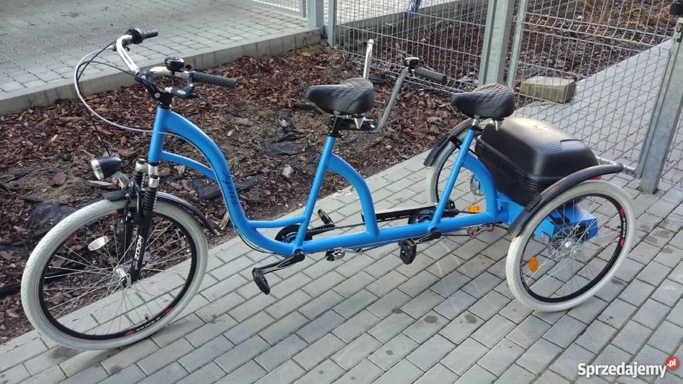 Rower Dwuosobowy Tandem Trójkołowy Bydgoszcz Sprzedajemy Pl