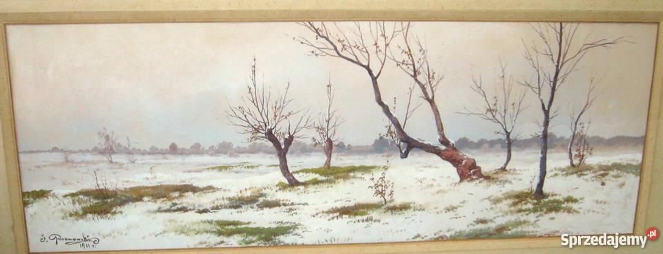 Guranowski Józef Zima 1911 r