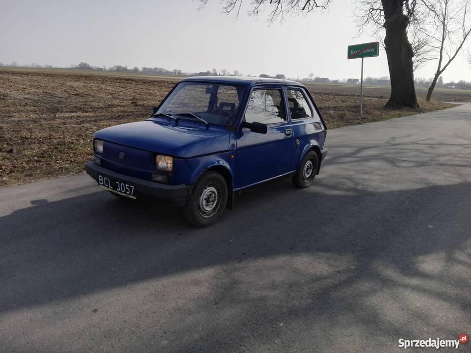 Fiat 126p kujawsko-pomorskie Pruszcz