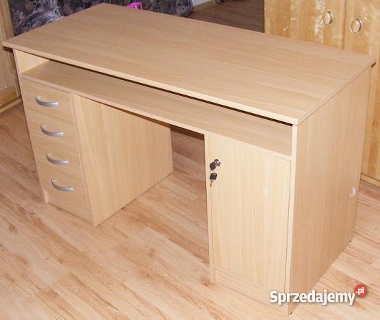 biurko z szafką i szufladami Stoły, krzesła, biurka Nowe Miasto Lubawskie