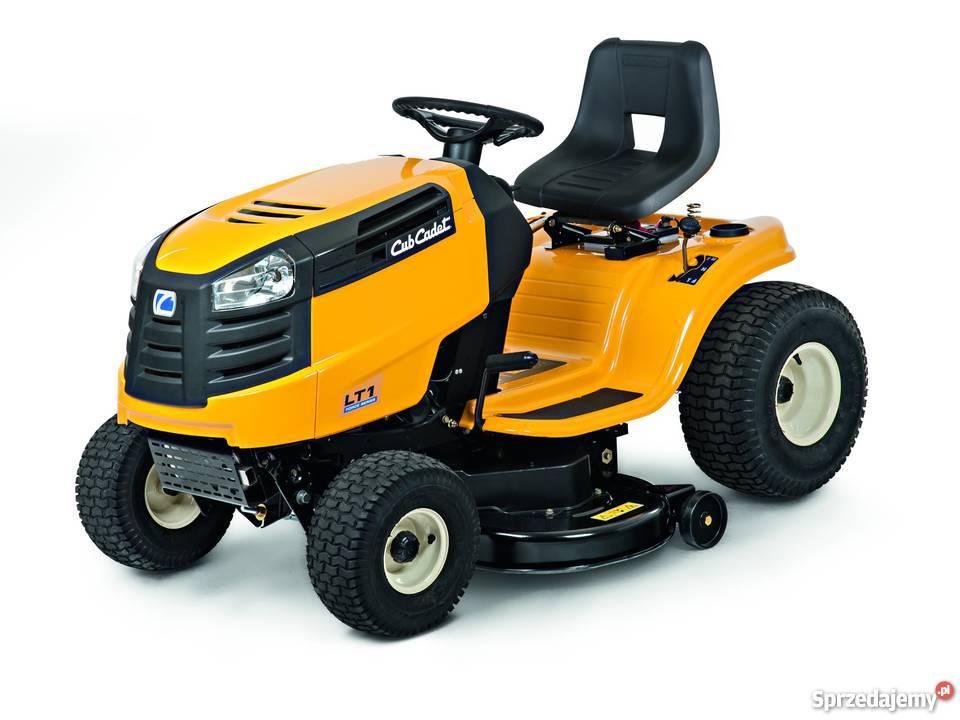 Kosiarka CUB CADET LT1 NS96 traktor ogrodowy boczny wyrzut