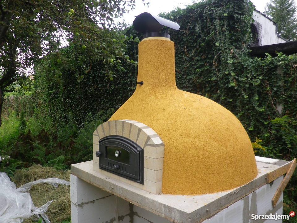Dodatkowe Ogrodowy piec chlebowy do pizzy warzyw ciast opalany drewnem HG08