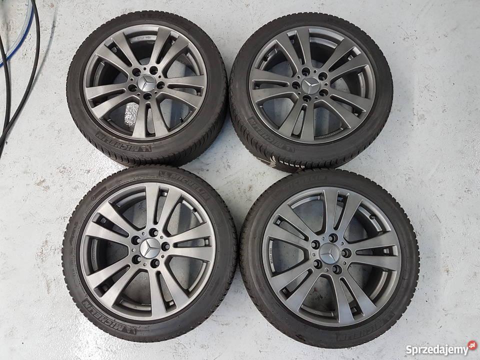 4 Felgi Aluminiowe 17 Cali Do Mercedes C Klasa W204 W203 Warszawa