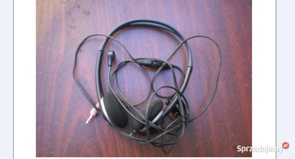 Słuchawki z mikrofonem pc laptop mp3 tv