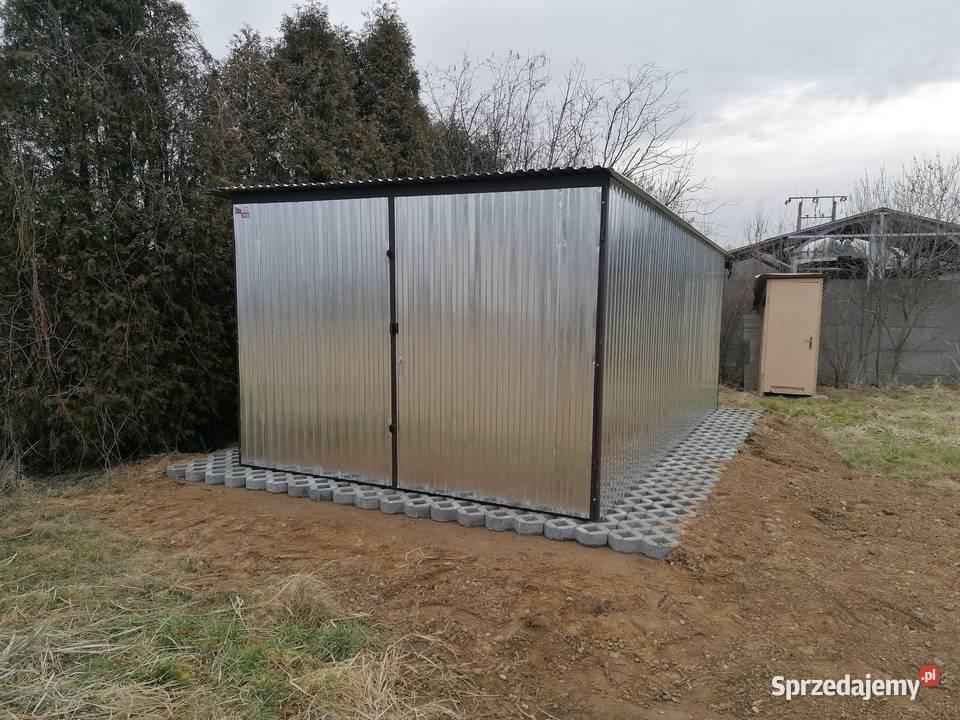 Standardowy garaż 3x5m Producent garaz blaszak 4x5 6x5 2x3