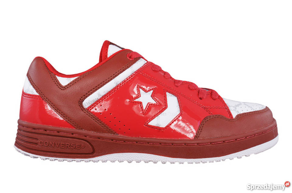 Buty adidasy trampki CONVERSE Weapon Red OX