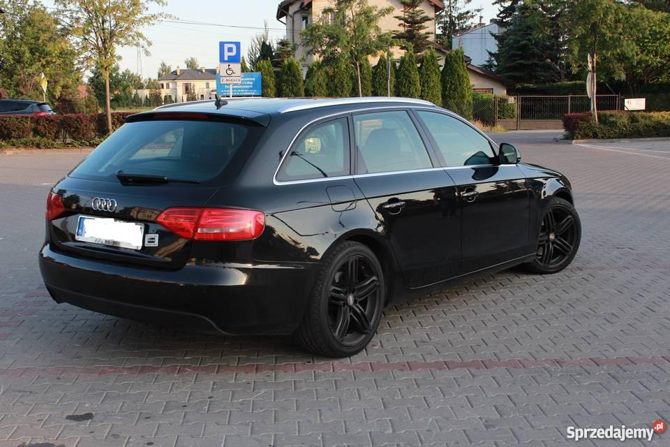 Audi A4 B8 Avant Full Opcja Navi B Xen Alcantara S Line Warszawa