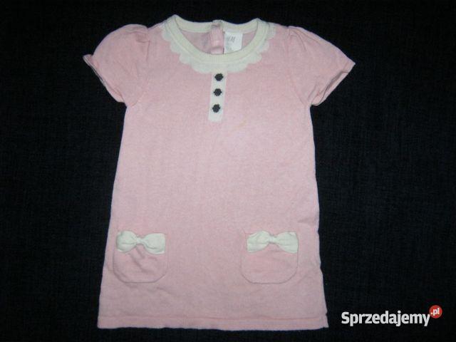 59e732d8dc dzianinowa tunika   sukienka H M 74cm. - Sprzedajemy.pl