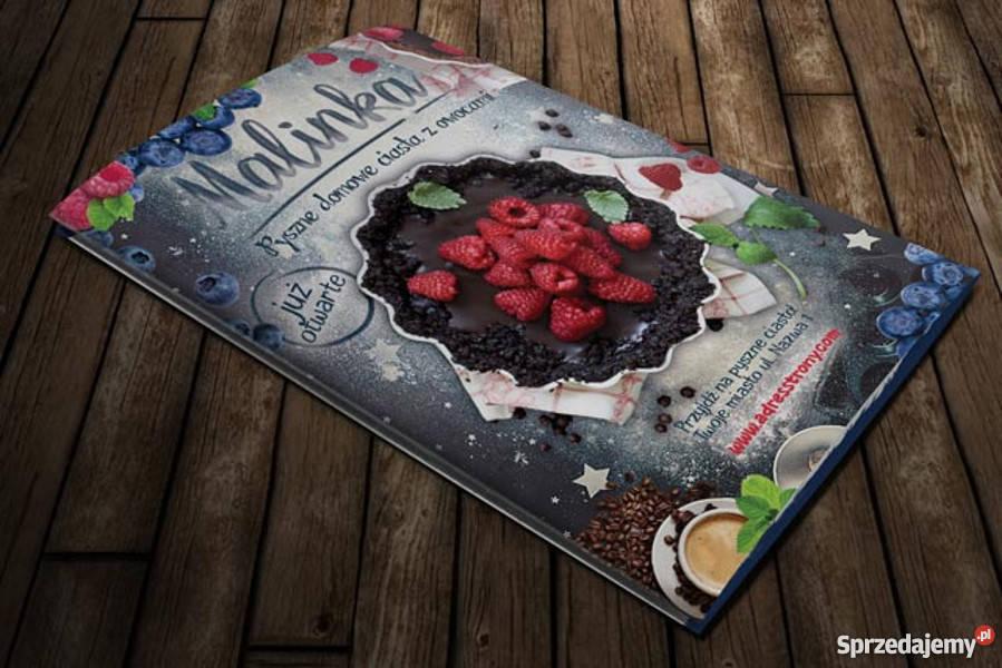 Oryginalny Projekt graficzny broszura ulotka Usługi reklamowe reklama