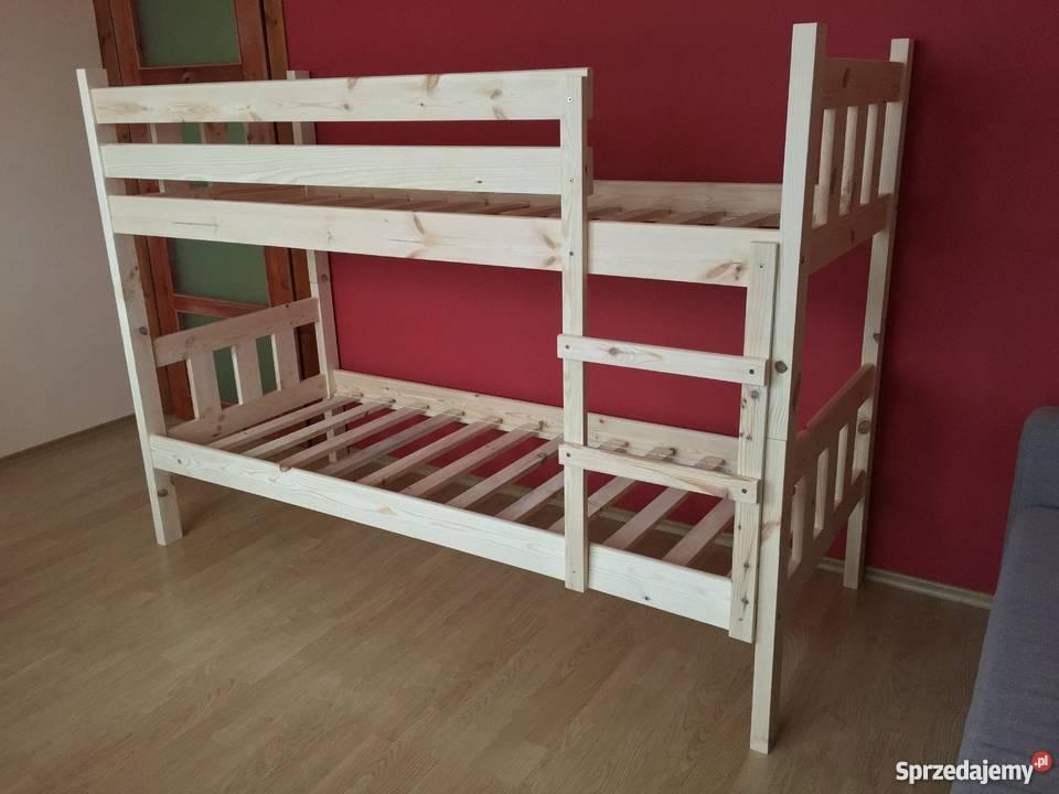 łóżko Piętrowe Każdy Wymiar 90x200 90x190 80x200 80x190