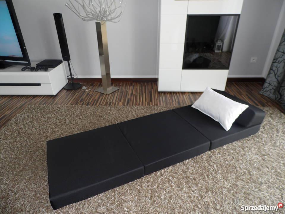 Materac składany rozkładany fotel łóżko na OGRÓD Meble ogrodowe wielkopolskie Pecna