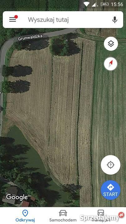 Działka rolna ze stawem Pielgrzymowice