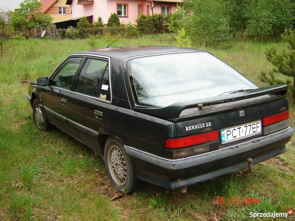 Tylko na zewnątrz Renault 25 GTS 2.0 Kolincz - Sprzedajemy.pl AU15