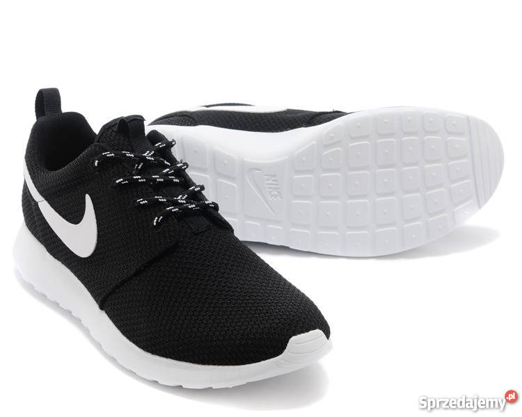 Buty Sportowe NIKE ROSHE RUN 511882 010 Czarne Białe 36 Gwar