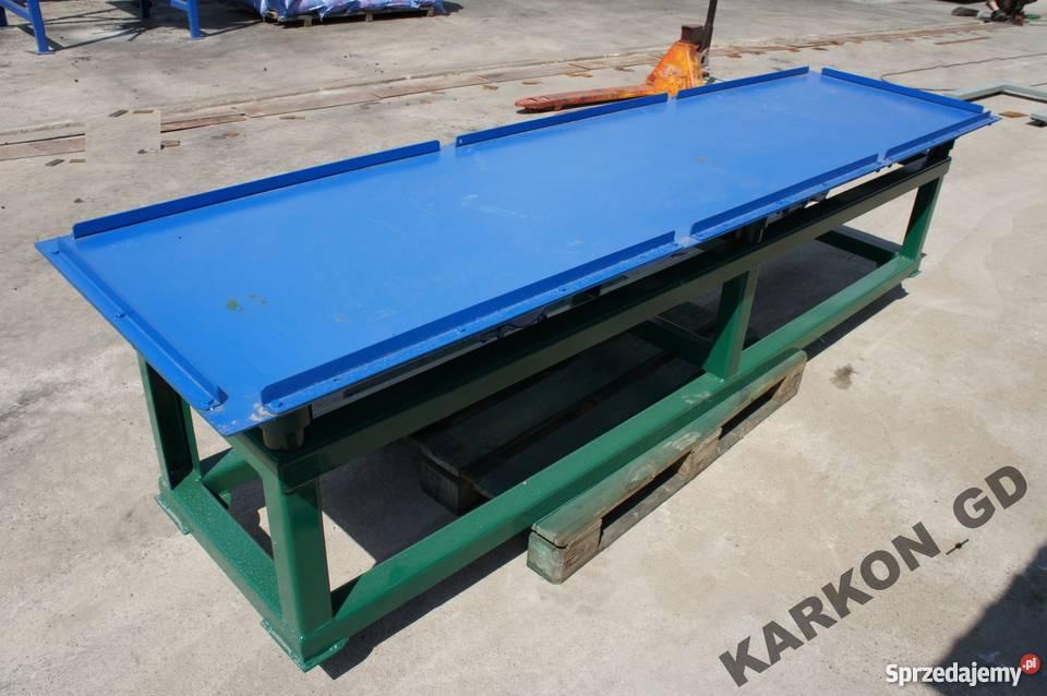 Ekstremalne Stół wibracyjny 2,0 m długości KARKON płyty Golub-Dobrzyń  @IN-32