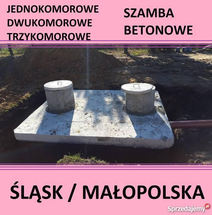 Zaawansowane szambo trzykomorowe cena - Sprzedajemy.pl YK48