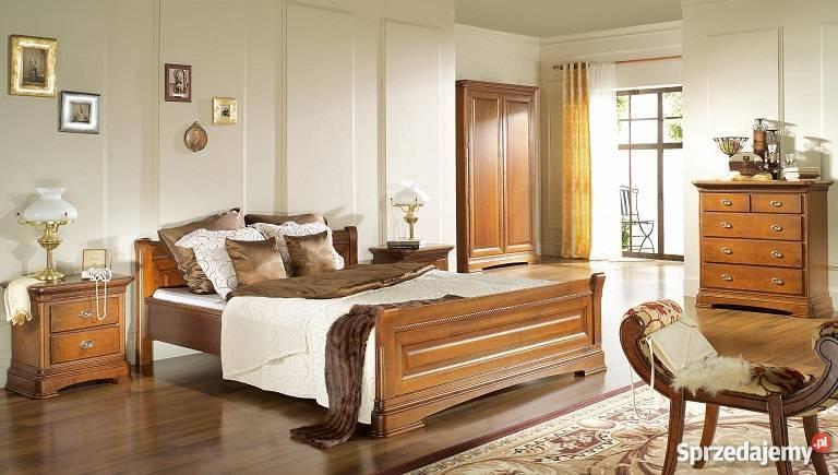 ekskluzywne meble drewniane do sypialni warszawa