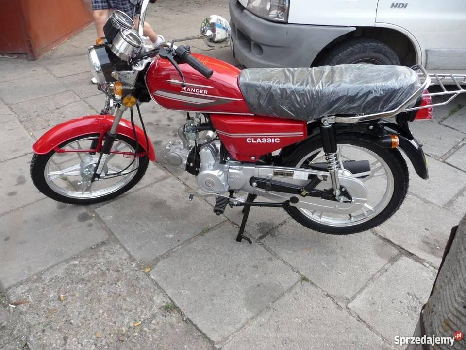 Barton Ranger Ogar 50 cc 4T motorower - wysyłka cała Polska