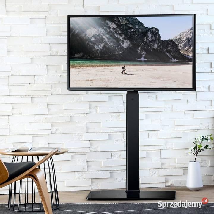 Nowoczesny Stojak podłogowy uchwyt TV 32-55 40kg VESA600x400
