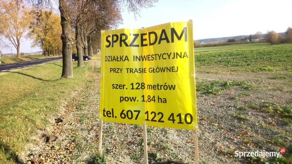 działka przy trasie międzynarodowej LublinDorohusk