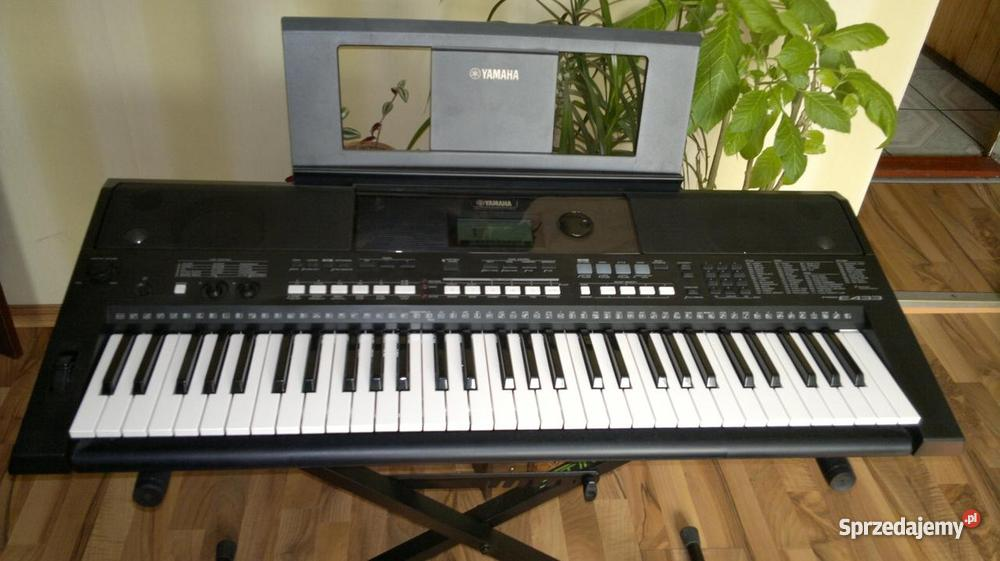 mega okazja keyboard yamaha psr e433 najtaniej gwarancja 1. Black Bedroom Furniture Sets. Home Design Ideas