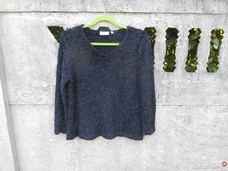 7264aba2ce6cfd czarny Sweter L XL ze srebrną nitką C&A Dębica - Sprzedajemy.pl