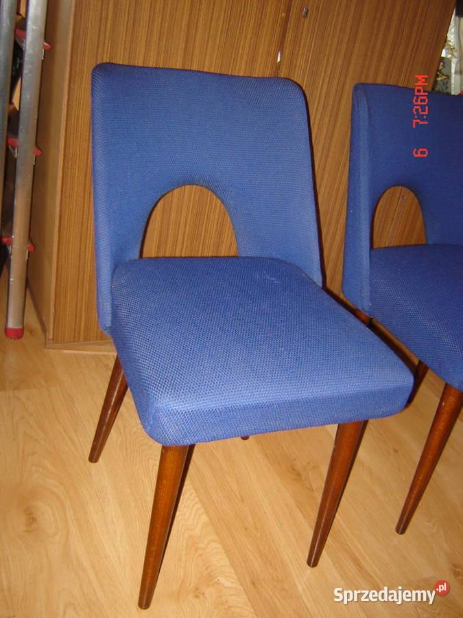 Sprzedam krzesła tapicerowane