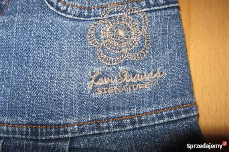 Levisspódnica jeans mini 9298104 z falbanką łódzkie Łódź