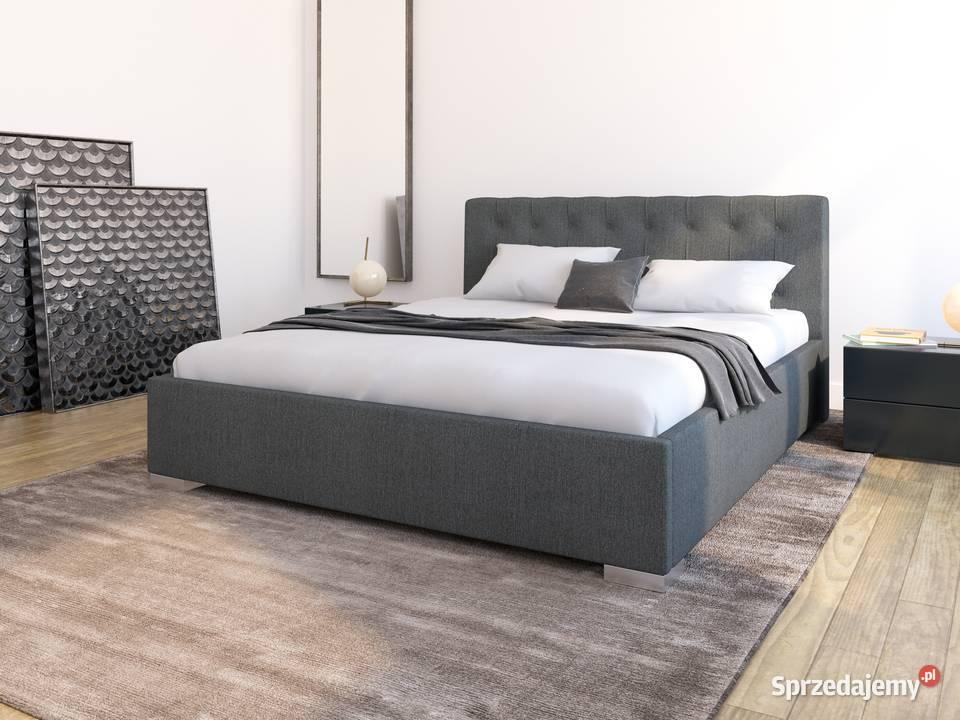 Łóżko tapicerowane GATTO I 160x200 z pojemnikiem
