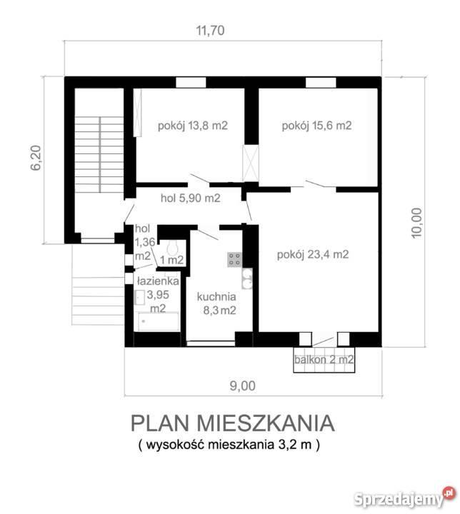 Mieszkanie garaż ogródek Warszawa