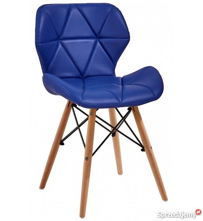 Nowoczesne pikowane krzesło Milo 8 kolorów Stoły, krzesła, biurka dolnośląskie