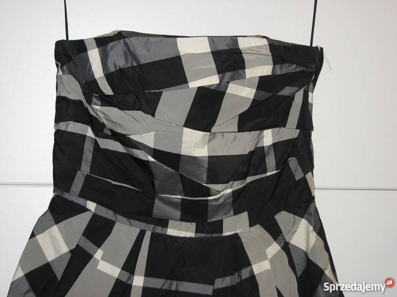 Zara sukienka bombka gorset kratka r. 36