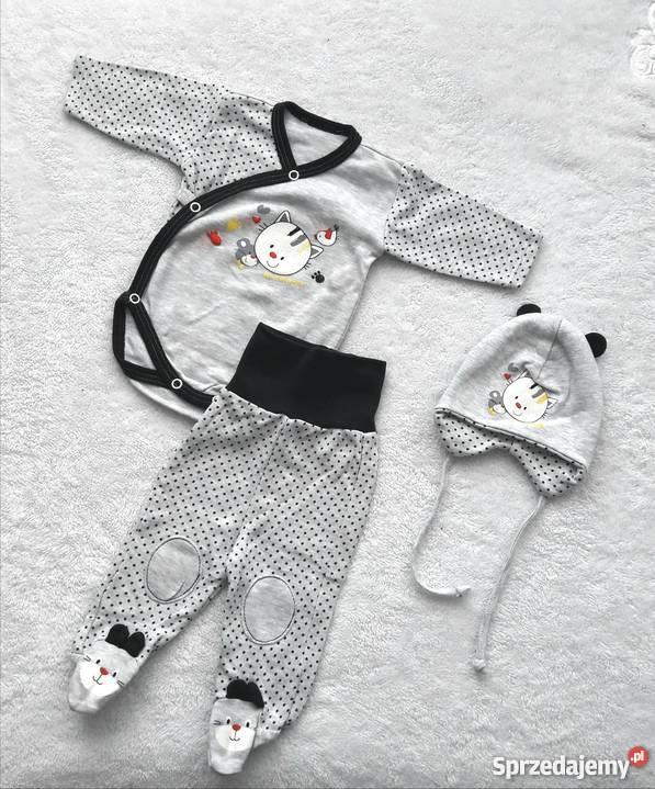 d26e45242d Wyprawka niemowlaka chłopiec 56 pajace body dres Komplety i zestawy Pakość
