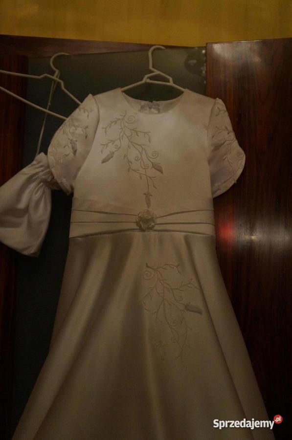 5775ab37e2 Sprzedam sukienkę komunijną r.134-140 w idealnym stanie - Sprzedajemy.pl