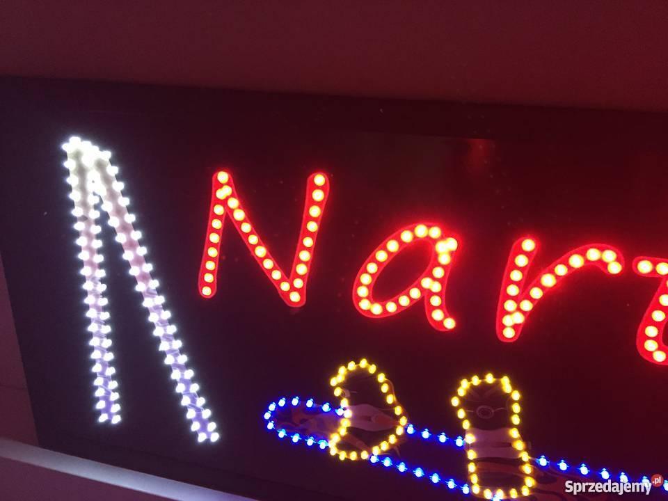 Reklama diodowa LED NARTY 81x40