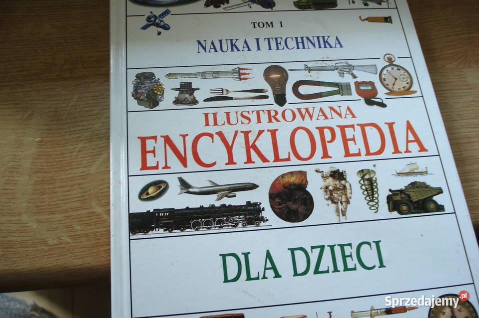 Książka Ilustrowana Encylkopedia dla Dzieci tom I,Technika